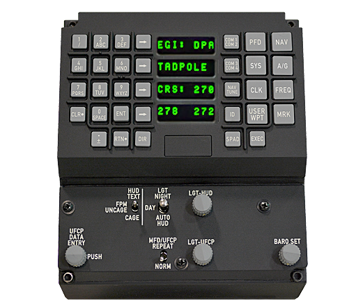 Up Front Control Panels (UFCP)